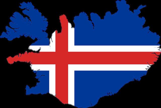 mapa Islandu